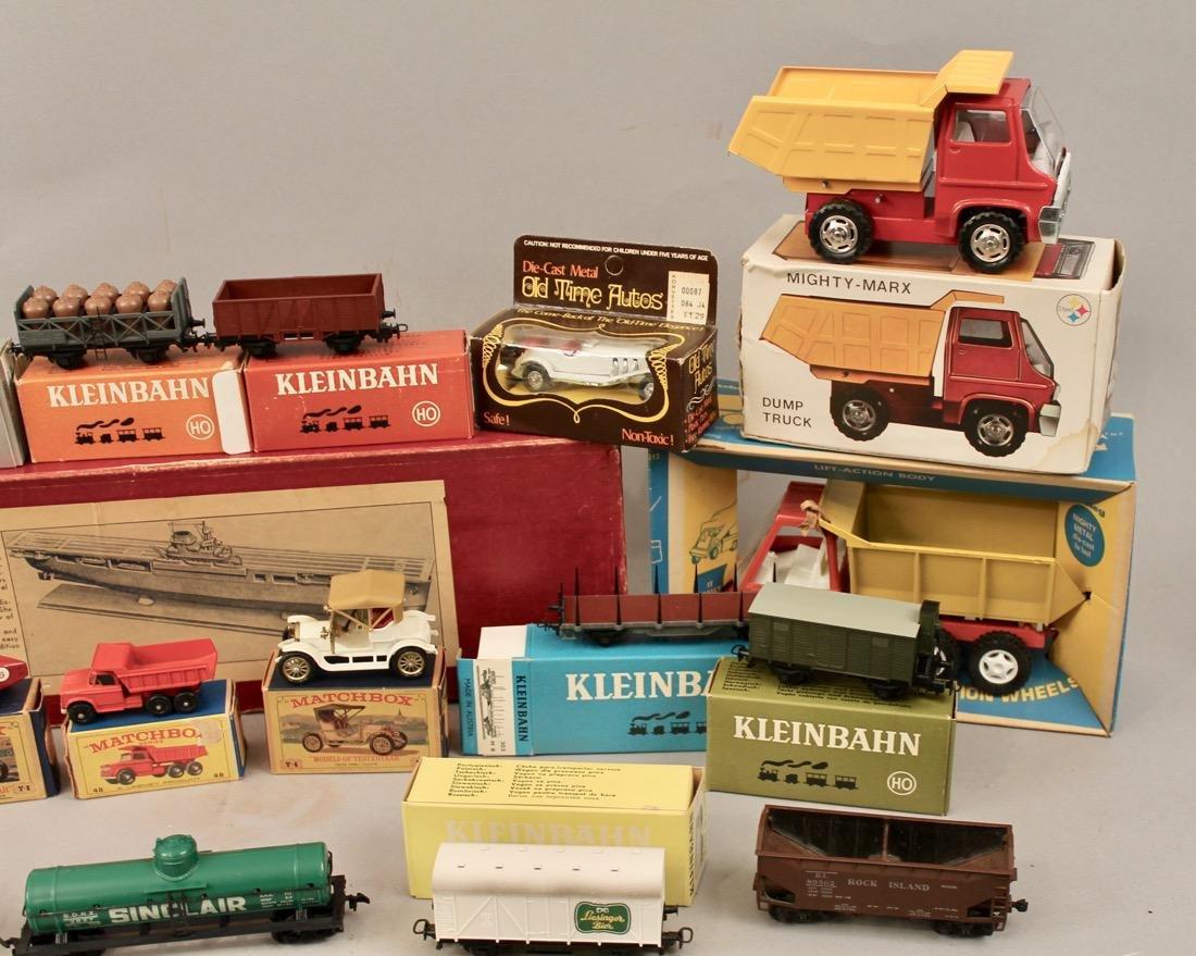 Lot vintage toys Kleinbahn, Marx, Matchbox, etcÉ - 2