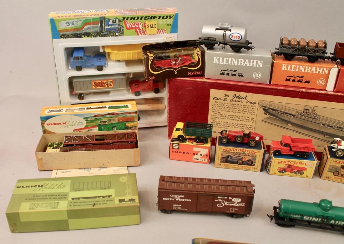 Lot vintage toys Kleinbahn, Marx, Matchbox, etcÉ - 4