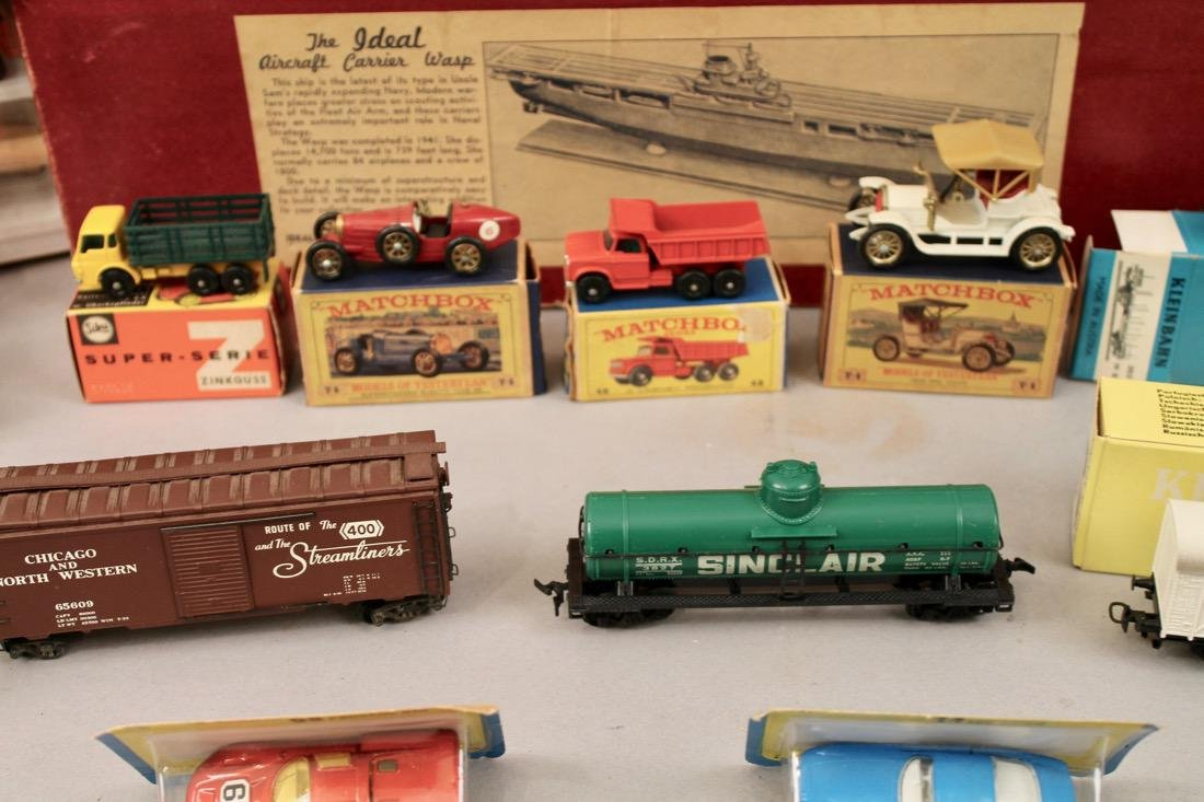 Lot vintage toys Kleinbahn, Marx, Matchbox, etcÉ - 5