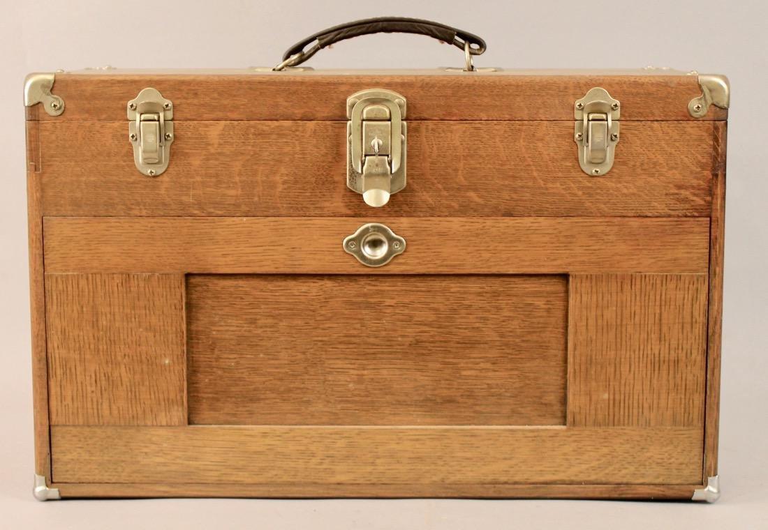 Oak Tool Chest H. Gerstner & Sons
