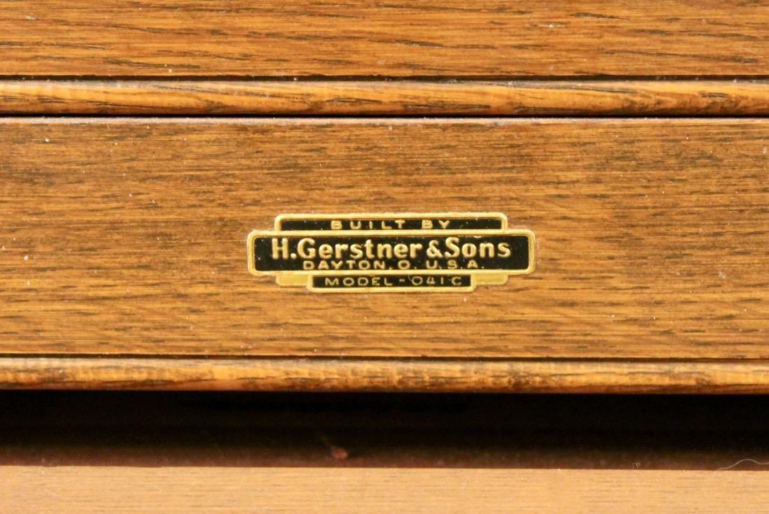 Oak Tool Chest H. Gerstner & Sons - 3