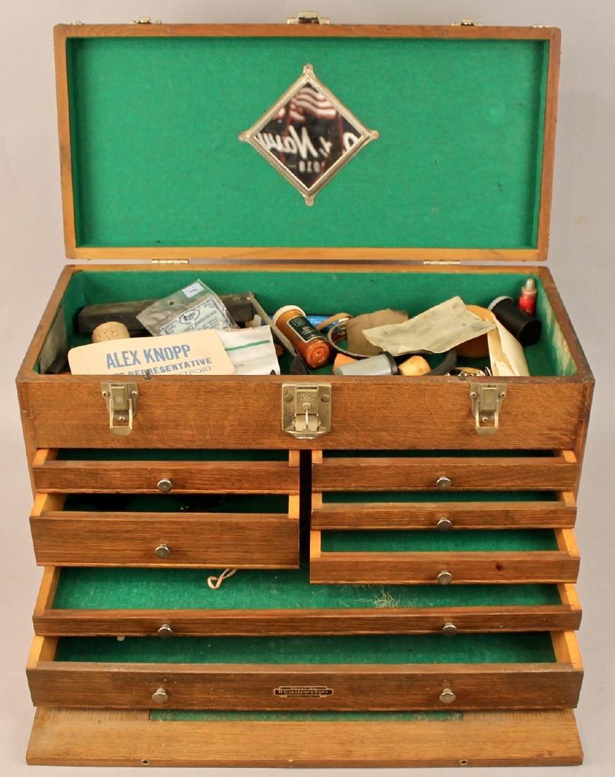Oak Tool Chest H. Gerstner & Sons - 4