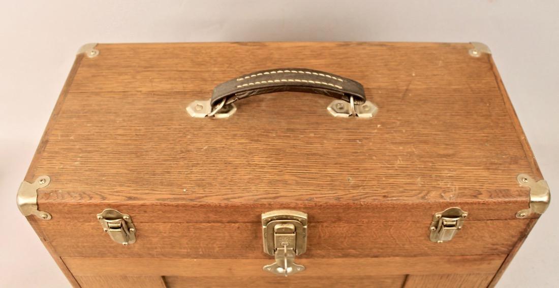 Oak Tool Chest H. Gerstner & Sons - 5