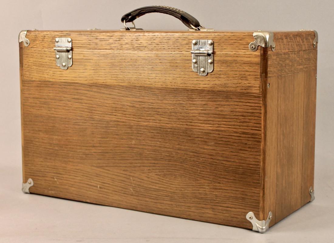 Oak Tool Chest H. Gerstner & Sons - 6