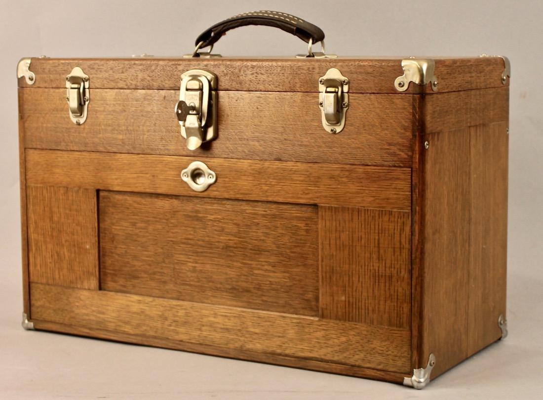 Oak Tool Chest H. Gerstner & Sons - 7
