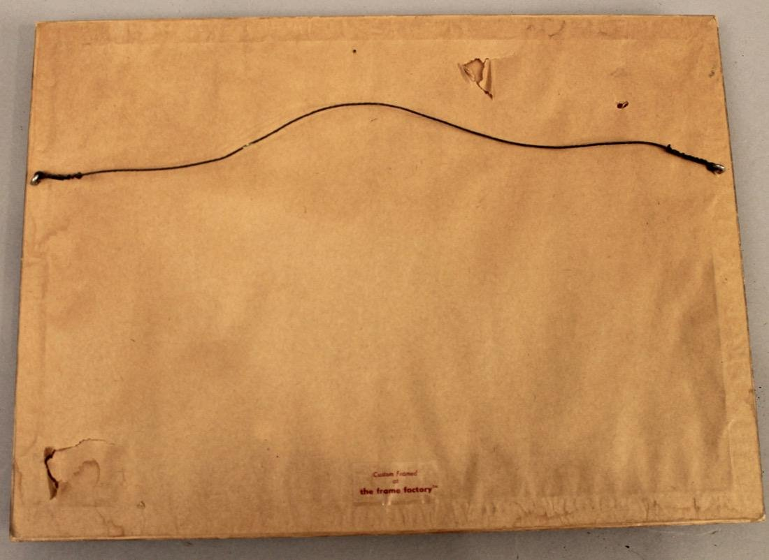 C.R. Loomis Watercolor on Paper Ocean w Sailboat - 5