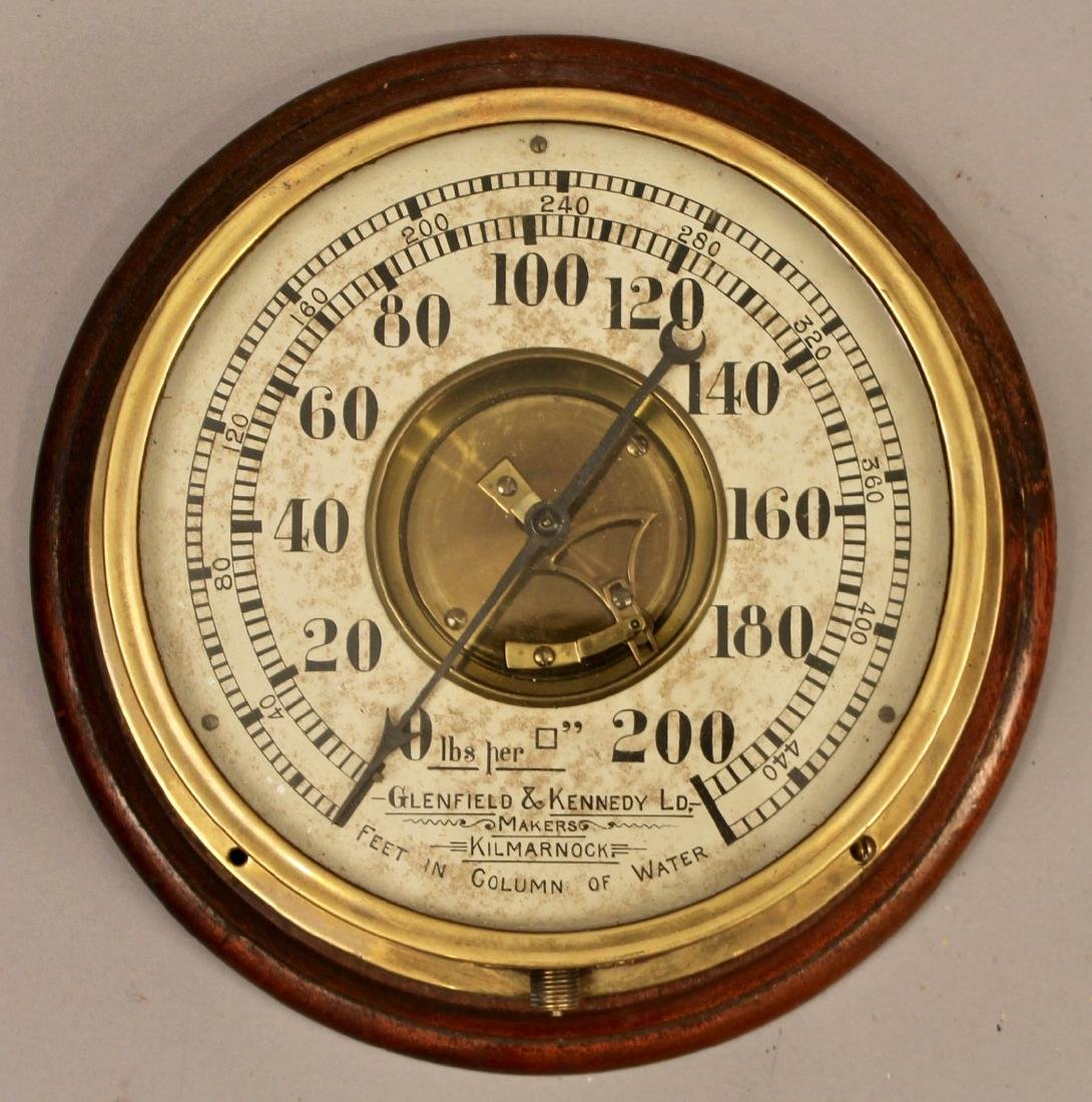 Glenfield & Kennedy LD. Pressure Gauge
