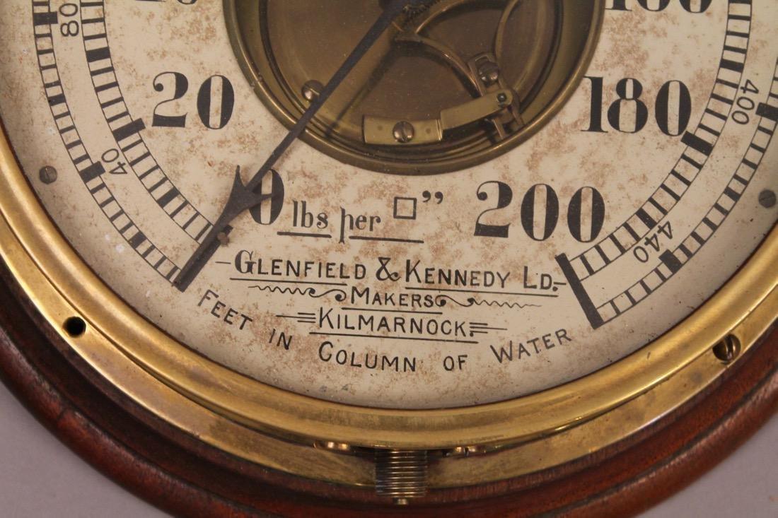 Glenfield & Kennedy LD. Pressure Gauge - 2