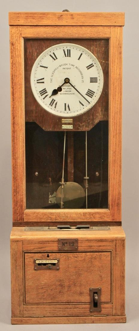 Gledhill-Brook Time Recorder Clock