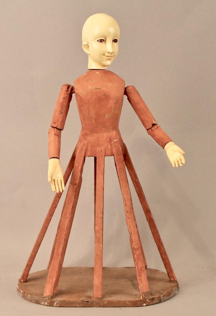Vintage Dress form Doll