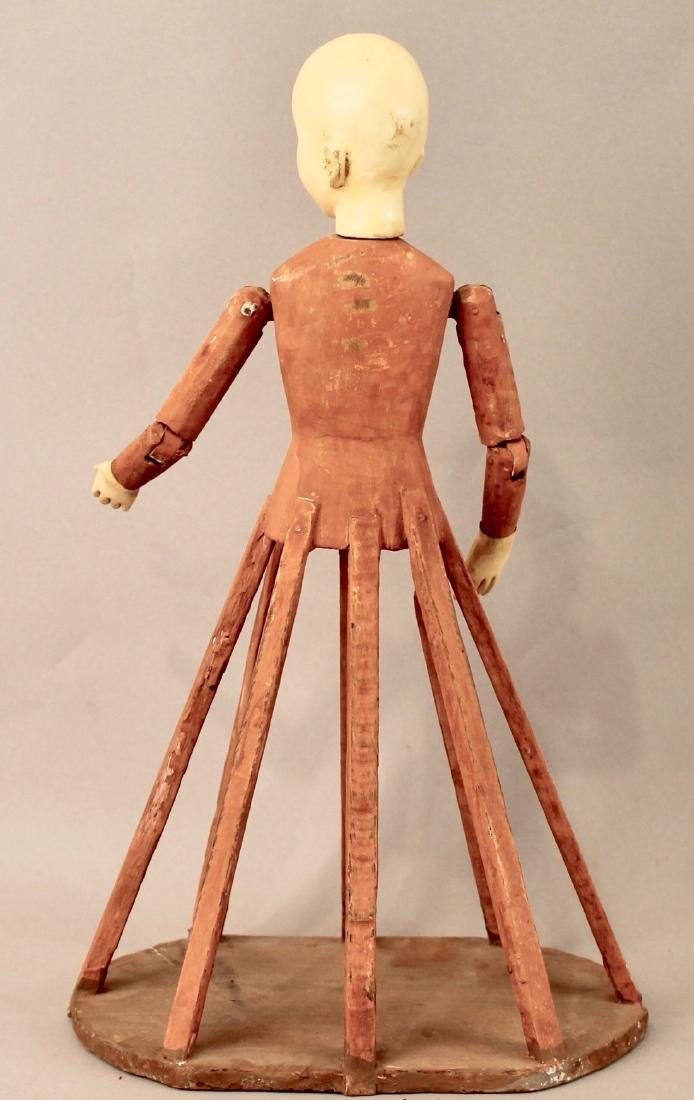 Vintage Dress form Doll - 3