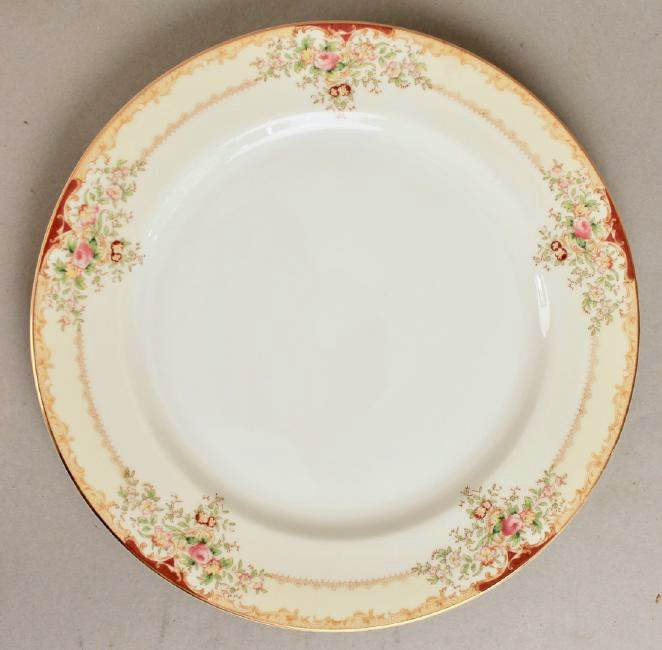 90 Piece Set of Hand Painted Meito China - 8