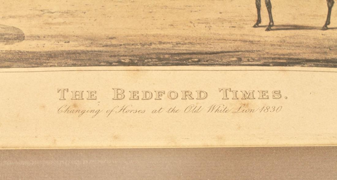 The Bedford Times Litho Old White Lion - 4