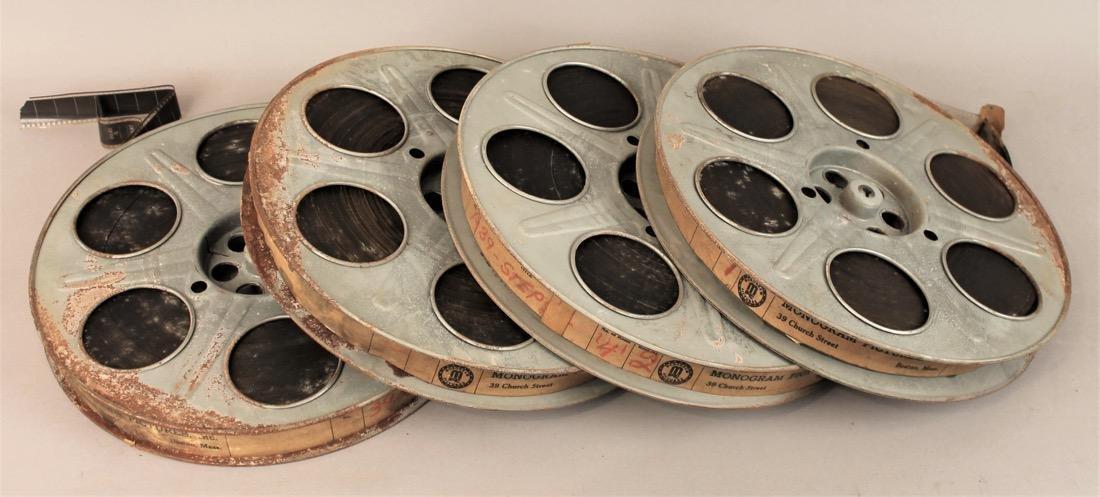 Original Movie Reel 39 Steps by Alfred Hitchcock - 4