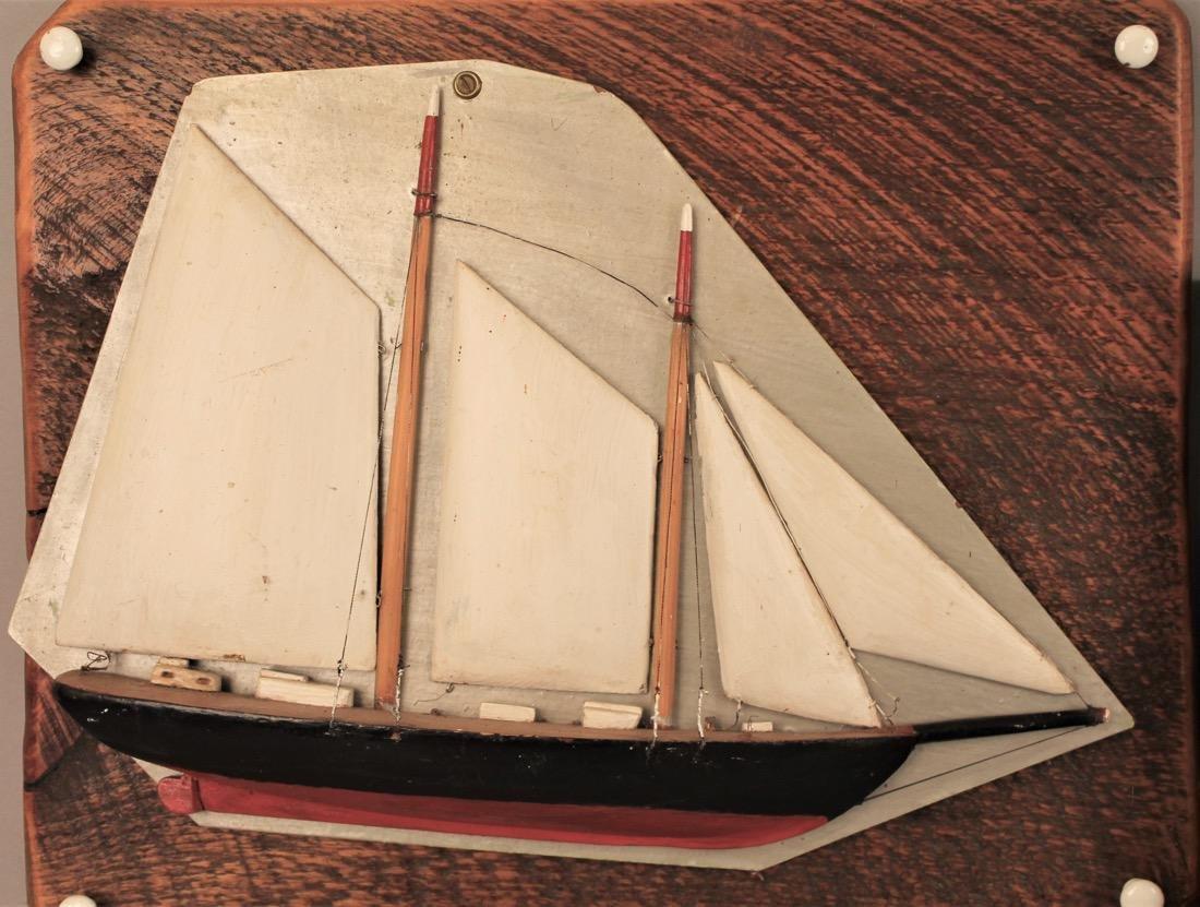 2 Sailboat Model Dioramas - 3