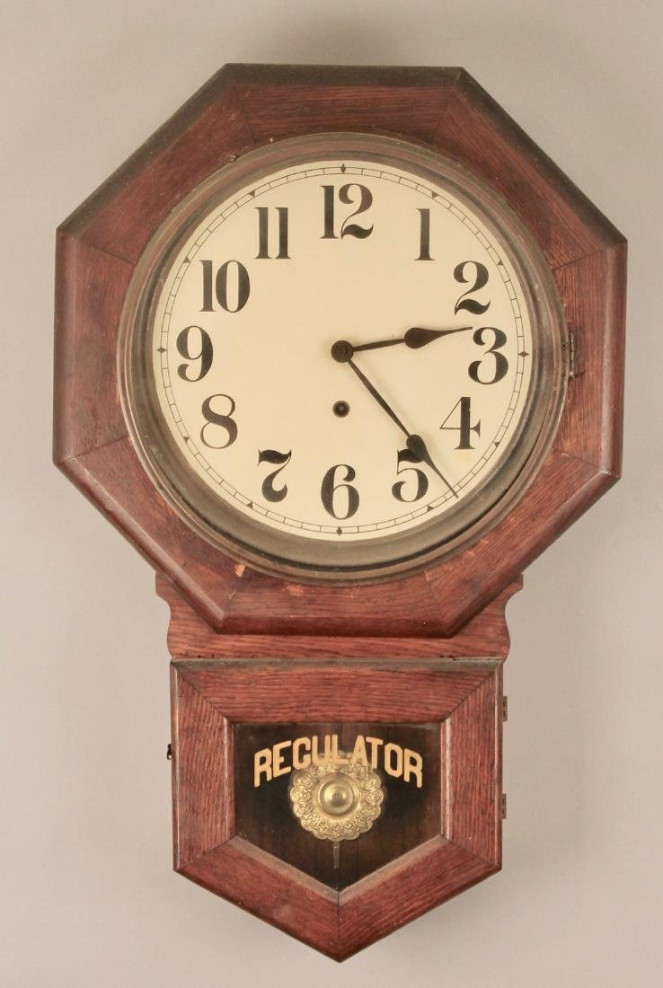 Oak Regulator Clock