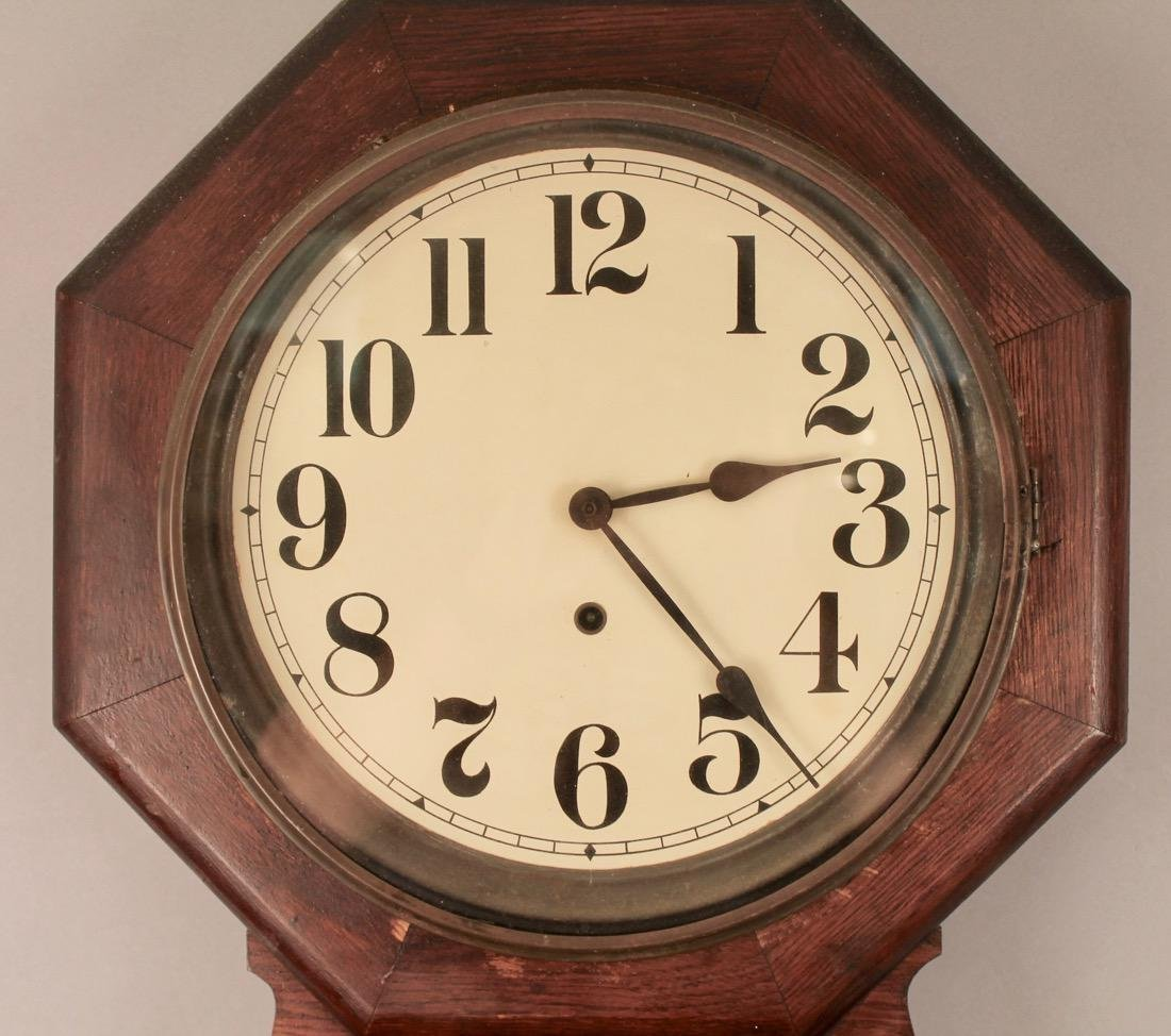 Oak Regulator Clock - 2