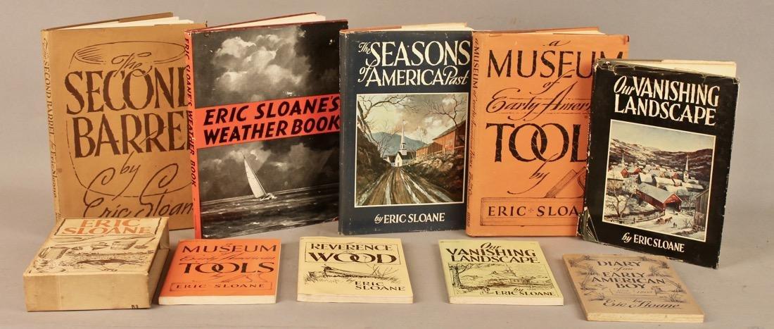 9 Eric Sloan Books, 2 Signed