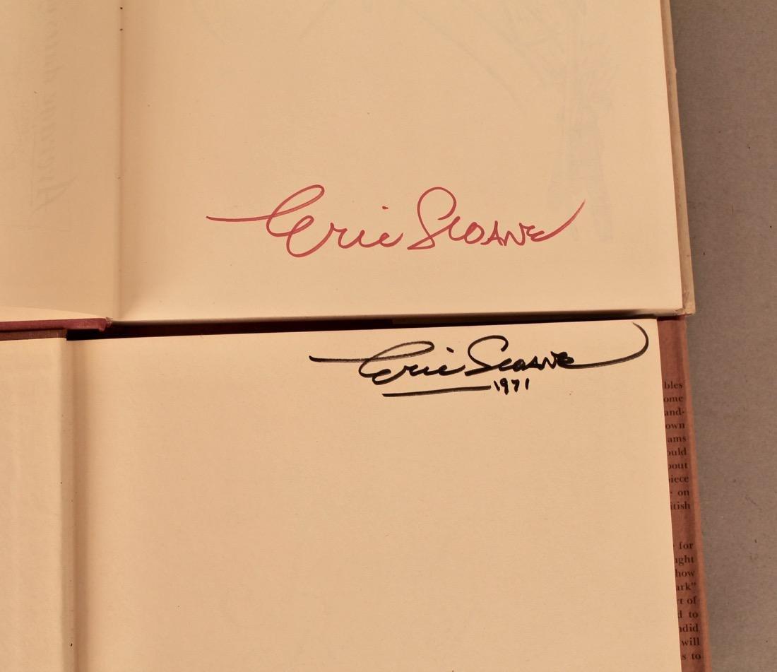 9 Eric Sloan Books, 2 Signed - 2