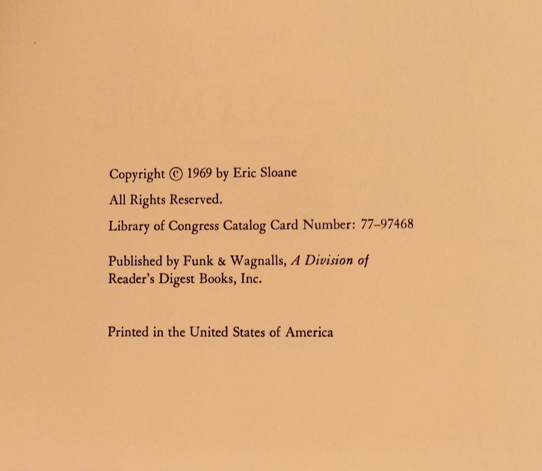 9 Eric Sloan Books, 2 Signed - 3