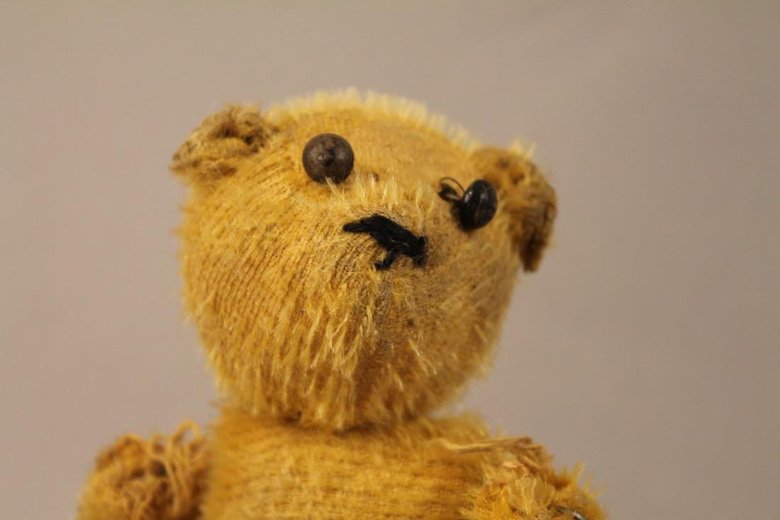 Vintage Teddy Bear and Windup Bear Toy - 4