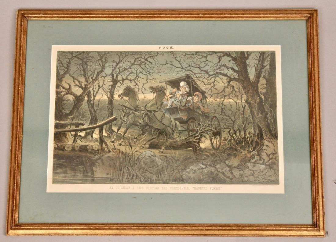 Puck Lithograph Haunted Forest