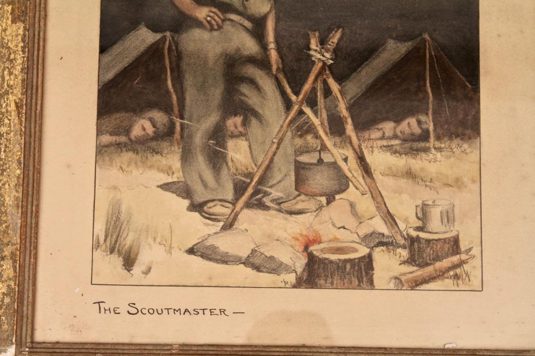 The Scoutmaster Litho - 3
