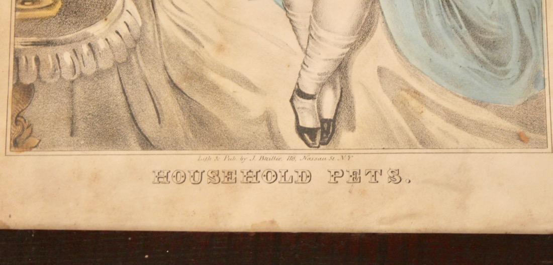 3 Early Engravings Currier, Kellog & Baillie - 7