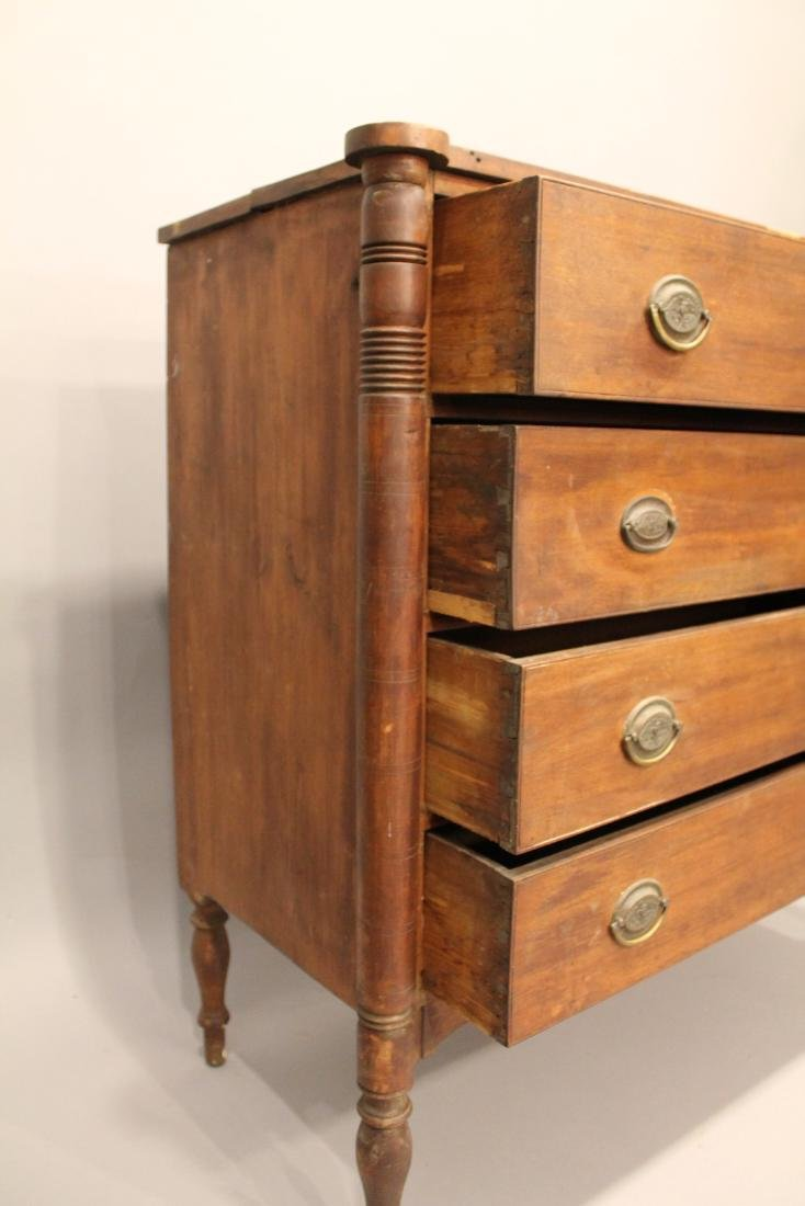 Sheraton Cherry 4 Drawer Chest - 4