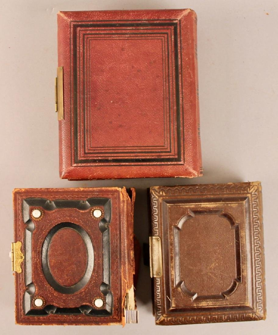 3 19th Century Photo Albums with Tin Types - 5