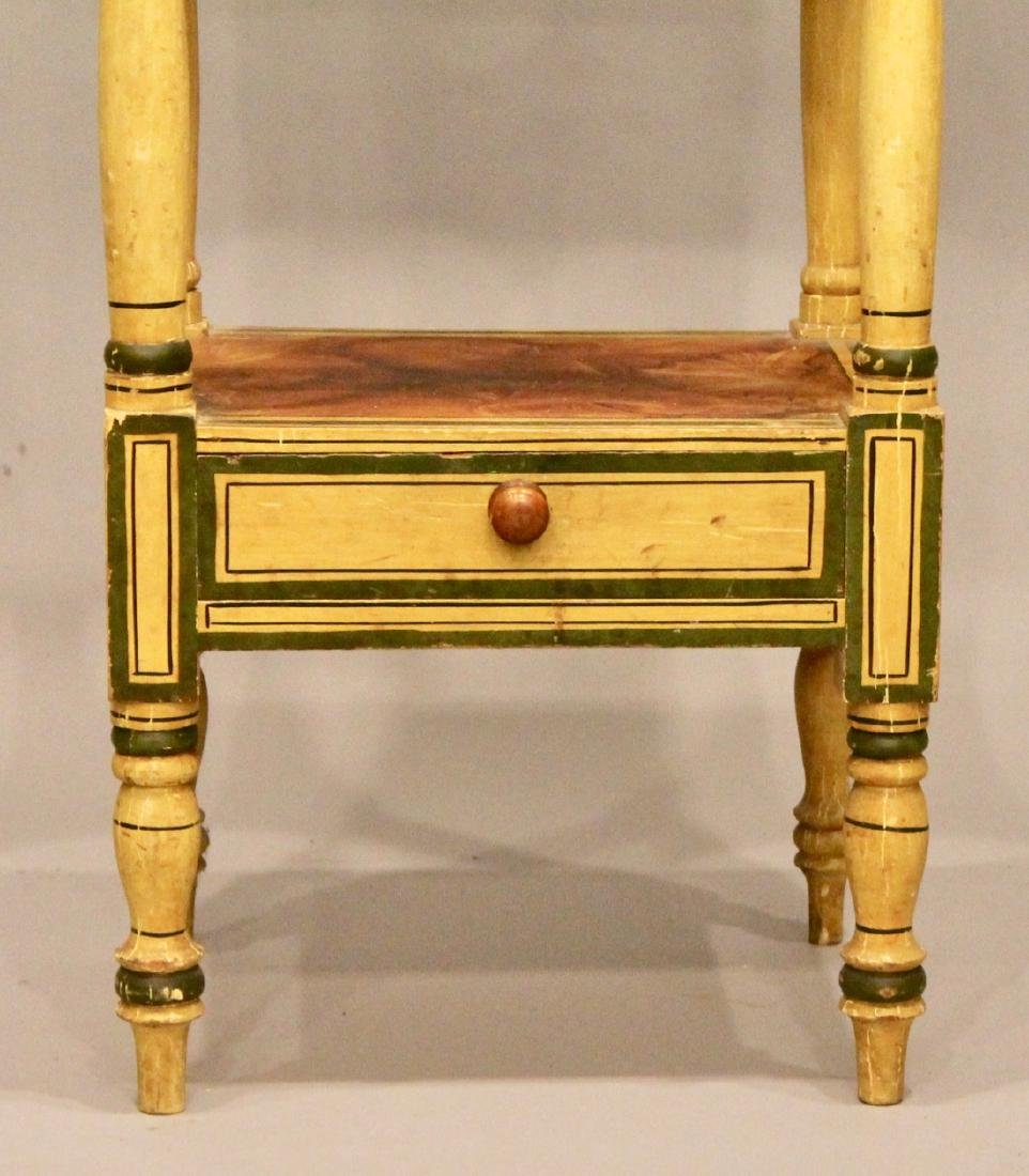 19th Century Paint Decorated Wash Stand - 2