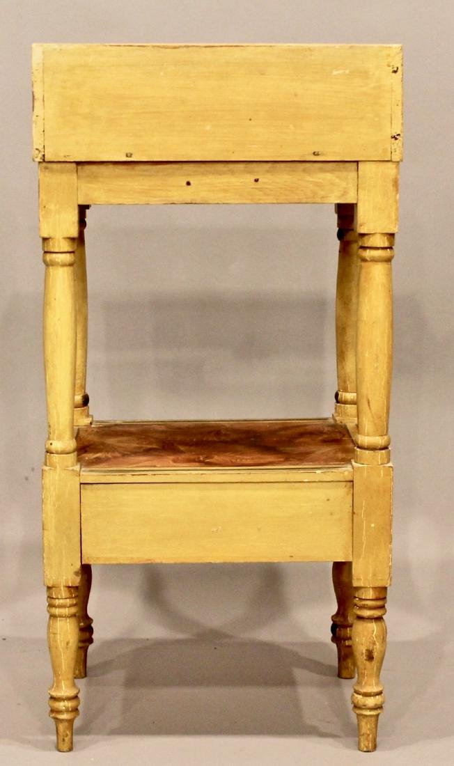 19th Century Paint Decorated Wash Stand - 6
