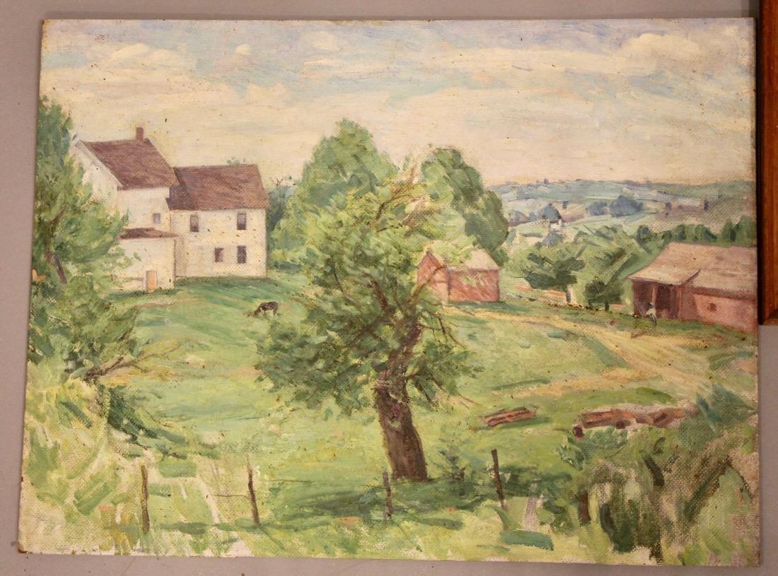 5 George Davidson 1889-1955 Oil Paintings - 2