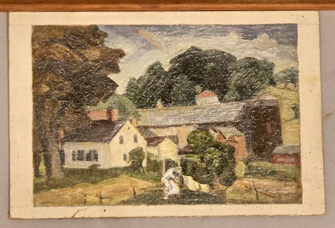 5 George Davidson 1889-1955 Oil Paintings - 3