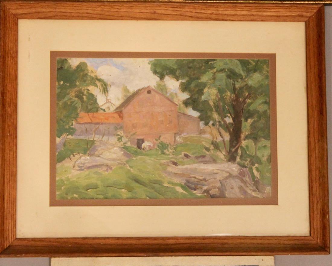 5 George Davidson 1889-1955 Oil Paintings - 4