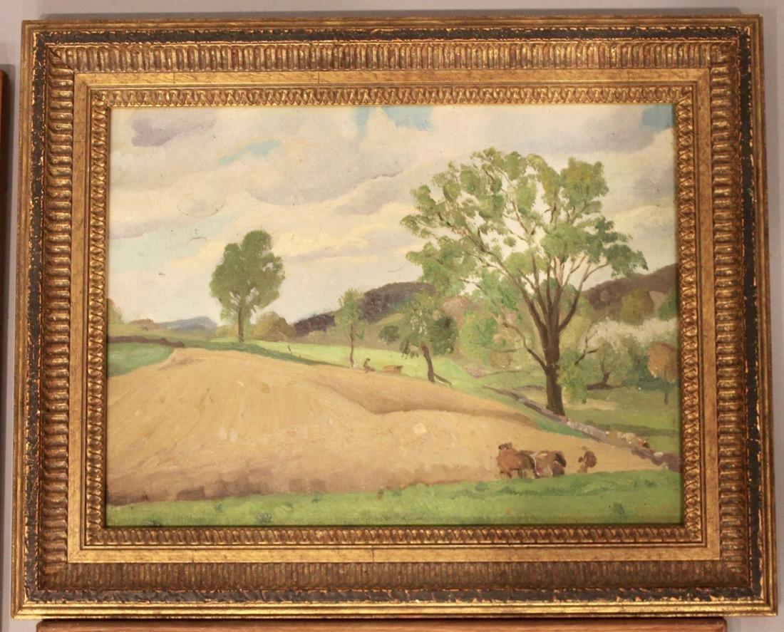 5 George Davidson 1889-1955 Oil Paintings - 5