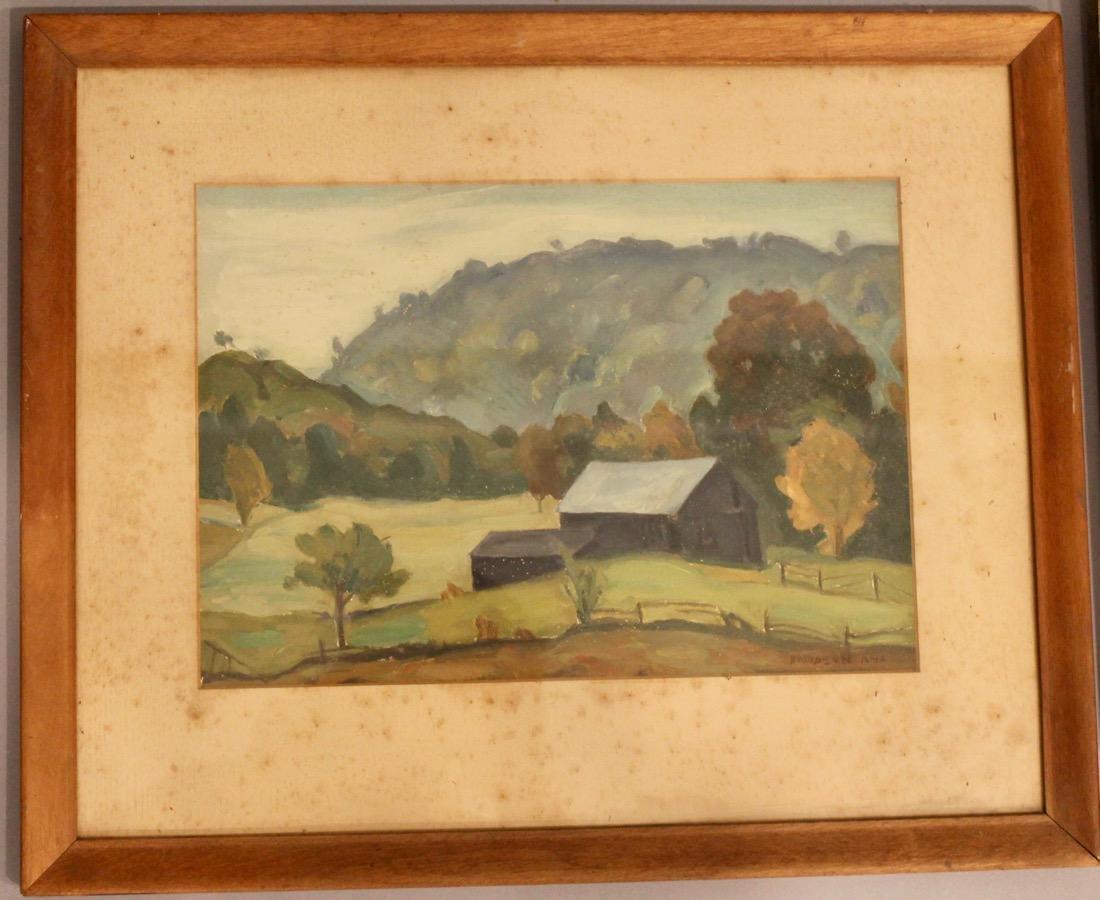 5 George Davidson 1889-1955 Oil Paintings - 6
