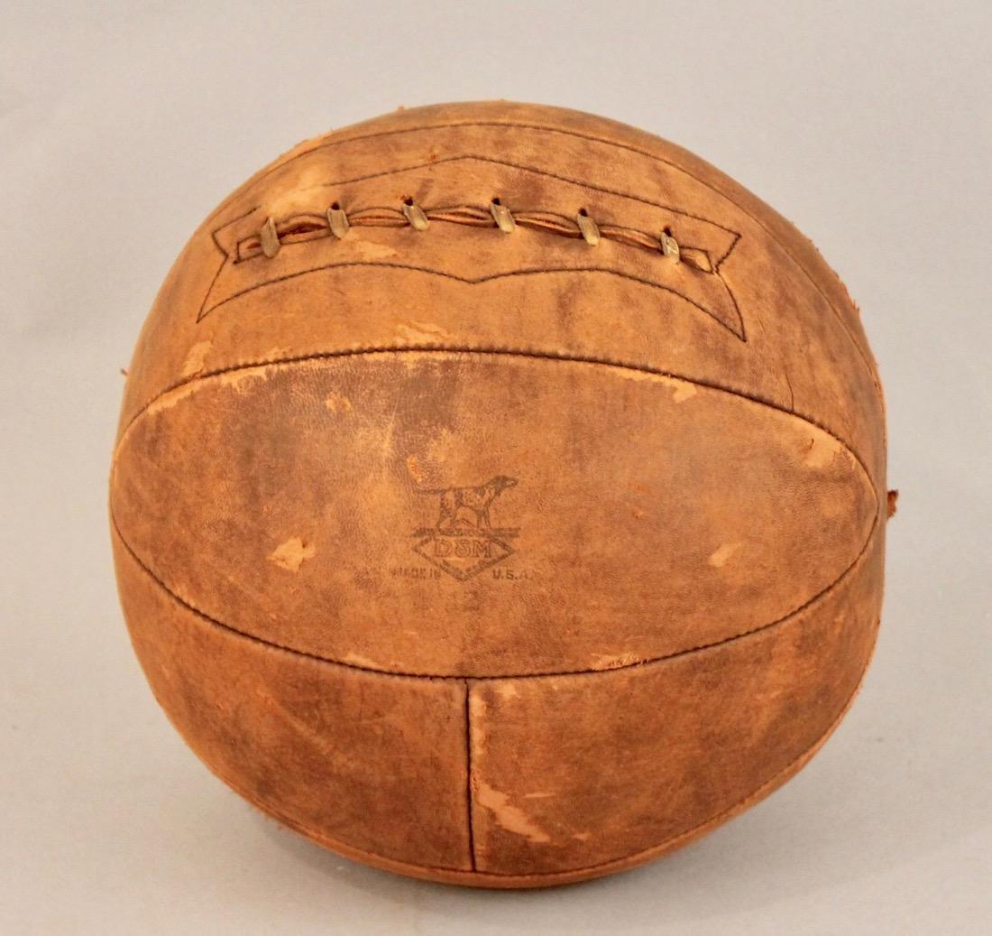 Vintage D&M Medicine Ball