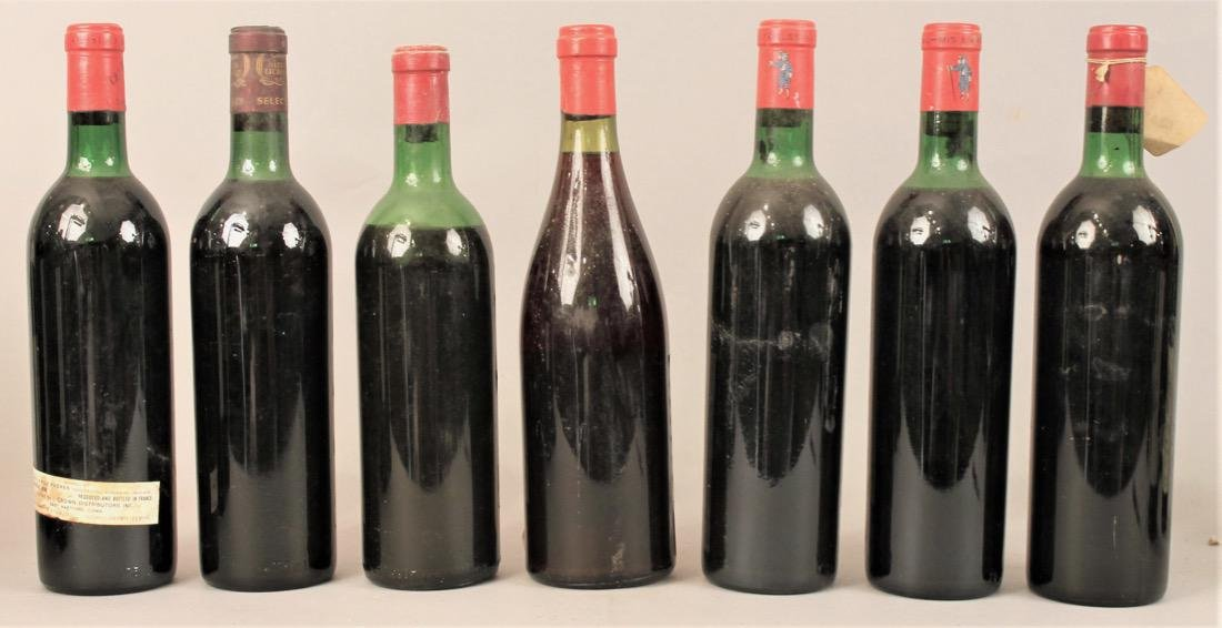7 Bottles of Vintage Wine - 4