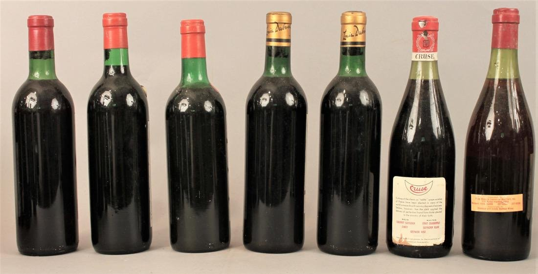 7 Bottles of Vintage Wine - 4