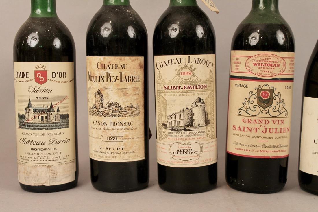 7 Bottles of Vintage Wine - 3