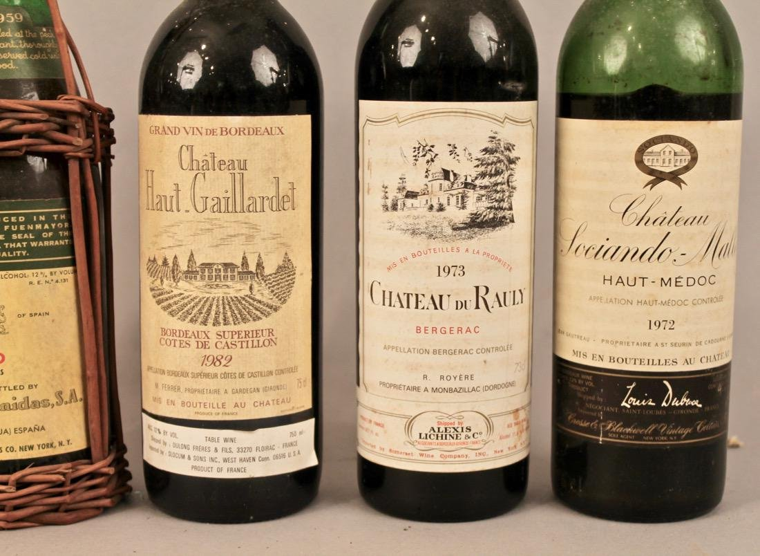 6 Bottles of Vintage Wine - 2