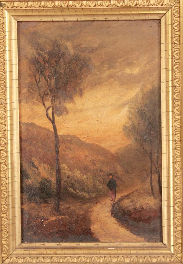 Pair of Small 19th Century Paintings - 2