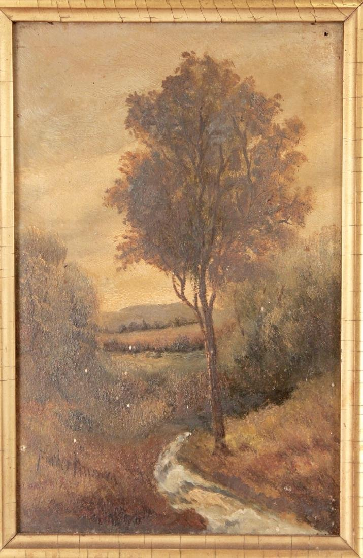Pair of Small 19th Century Paintings - 3