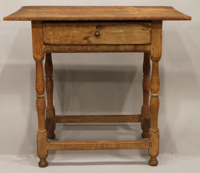 Rare Diminutive William & Mary Tavern Table