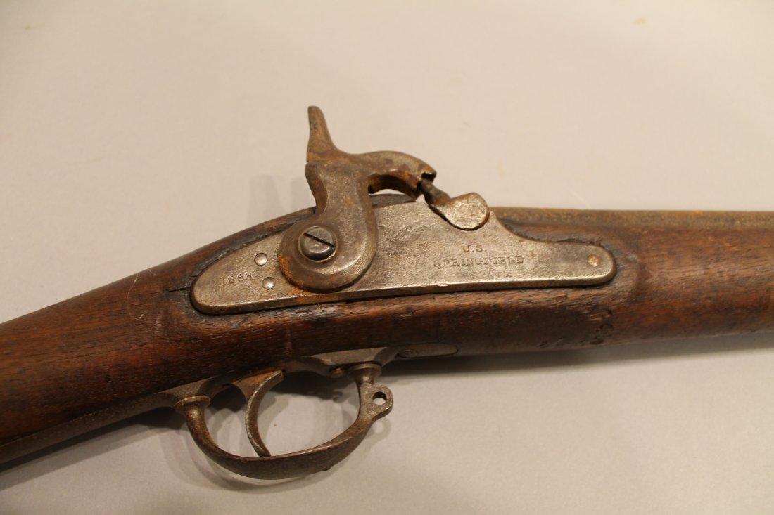 Civil War Era 1863 Model Springfield Rifle
