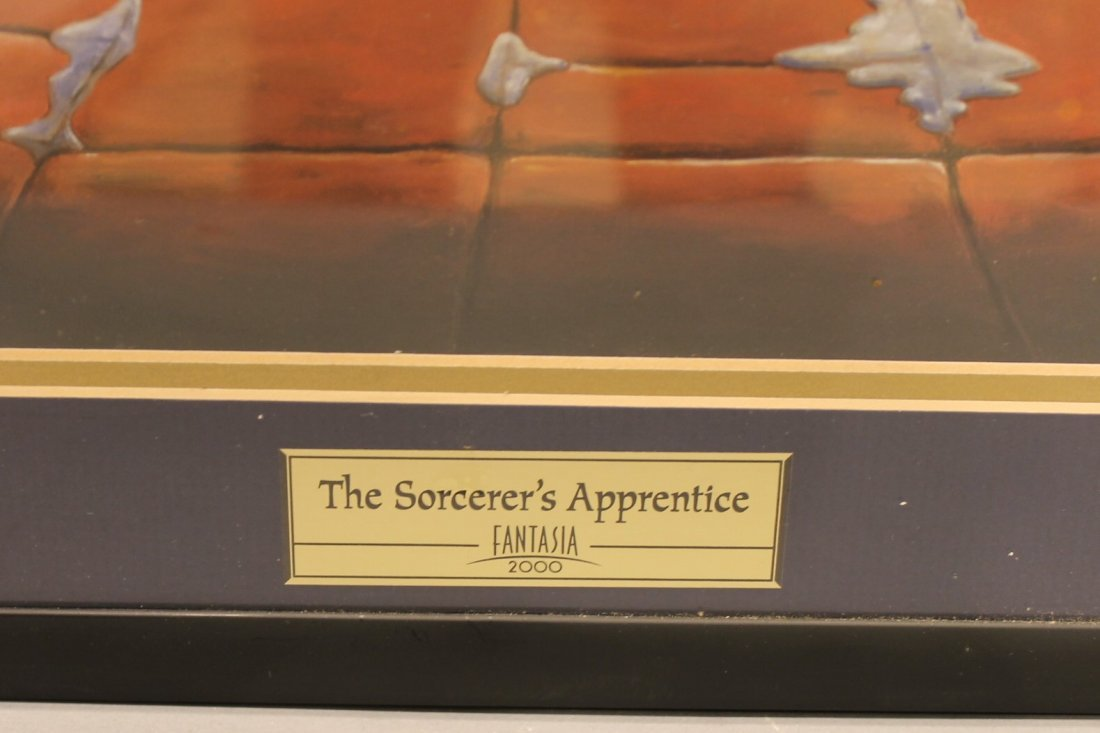 Limited Edition Sorcerers Apprentice Fantasia Diorama - 2