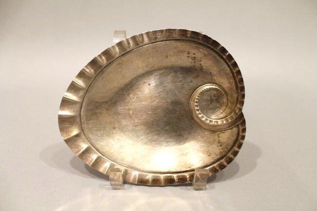Tiffany & Company Sterling Silver Art Deco Leaf Tray