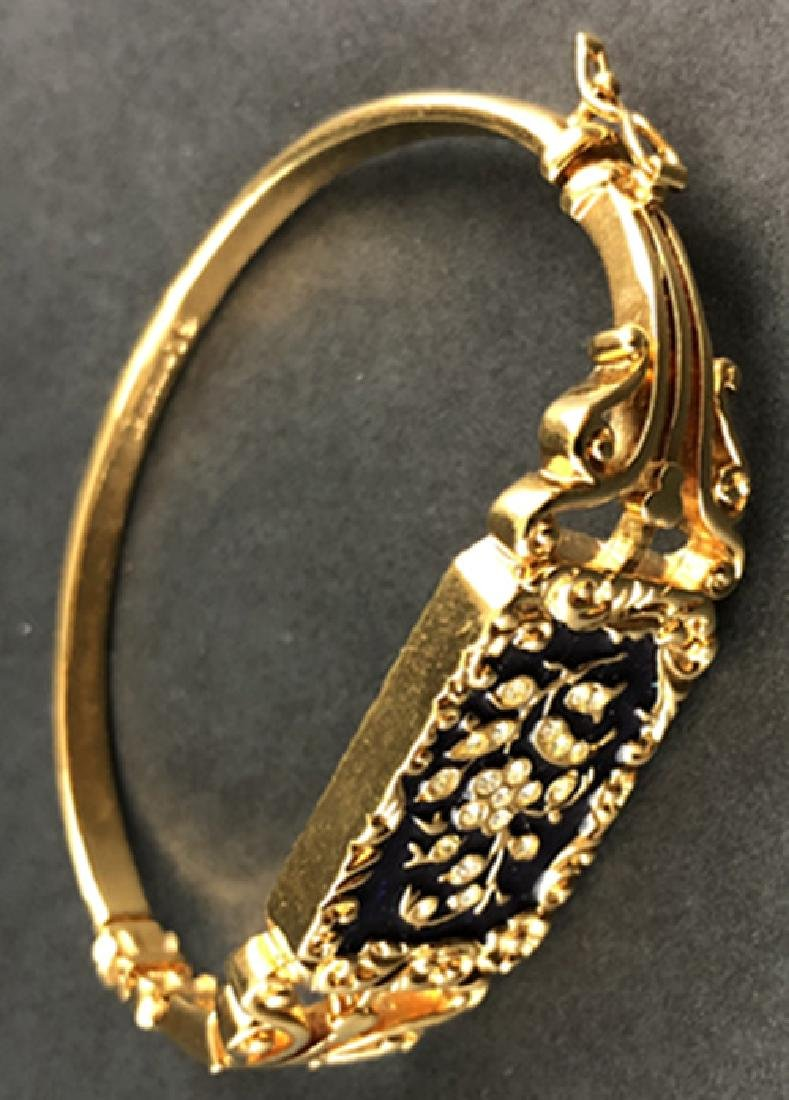 18 k yellow gold bracelet