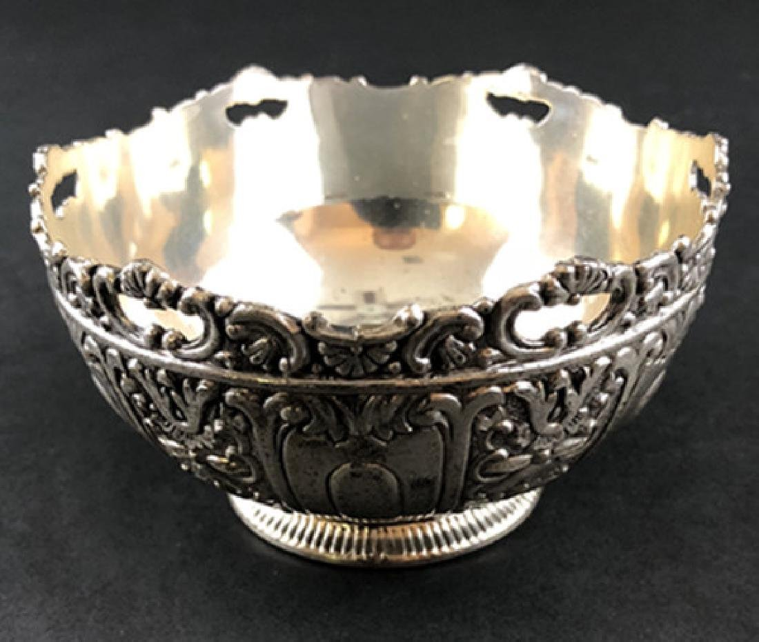 European sterling silver bowl